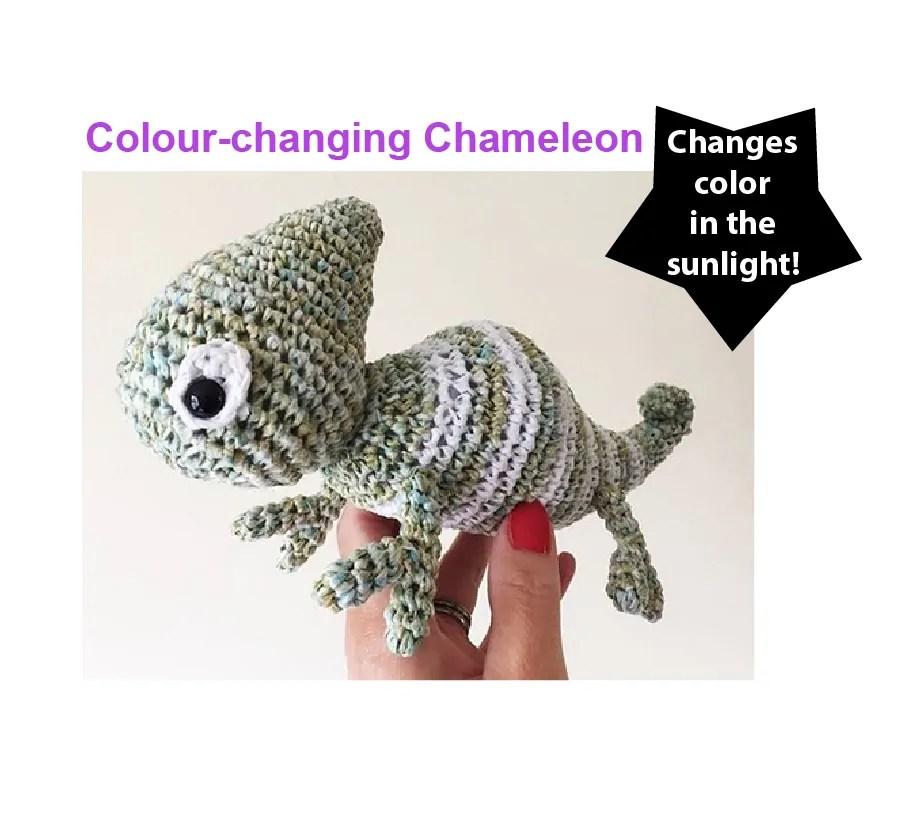 The Colour Change Chameleon Unique Yarns Co
