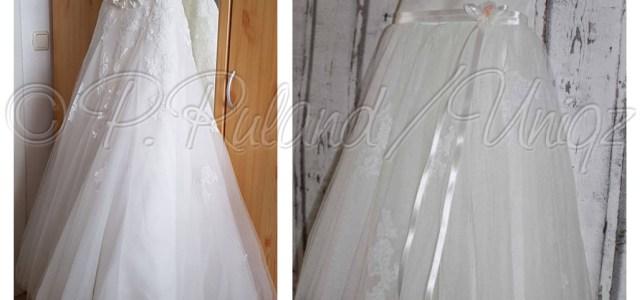 Es war einmal ein Brautkleid…… und es kam als Taufkleid erneut zum Einsatz