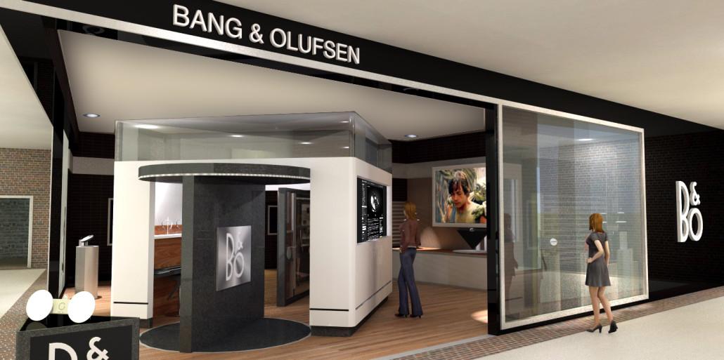 B Amp O Conceptual Retail Store Design Amin Ghassemi Designs