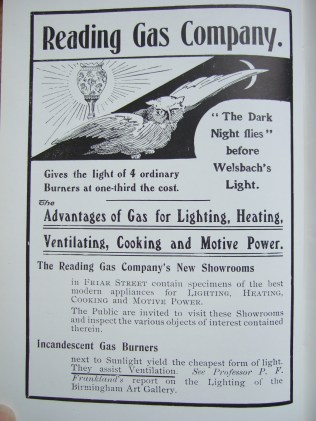 22. advert - Reading Gas Company