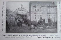 25. advert - Barker Street Horse & Carriage Repository, Reading