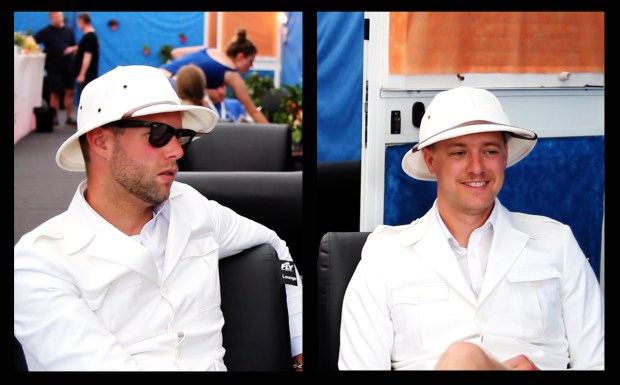 Chris Dangerous & Nicholaus Arson, The Hives, au Festi'Neuch 2014 (photos : Coralie Houillon)