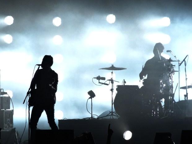 Arctic Monkeys, Rock en Seine, Paris, 22 août 2014. (photo: Léa Fochesato)