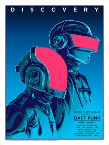 Daft Punk Regular par Tim Doyle