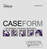 Case form