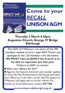 AGM poster