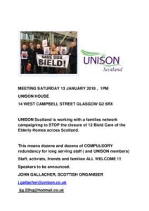 thumbnail of Bield Meeting – Saturday 13 January 2018