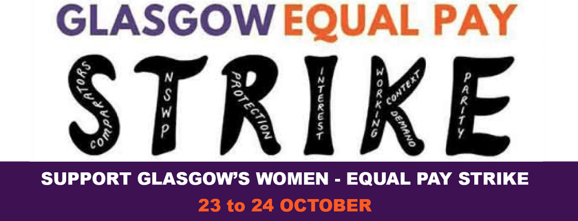 Support the Glasgow equal pay strike