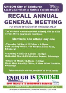 thumbnail of AGM Recall Poster
