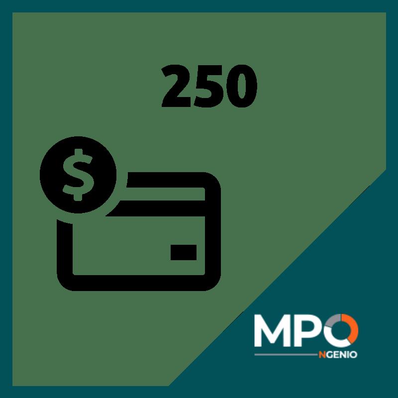 MPO Credits