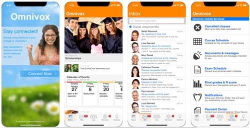 Omnivox mobile app
