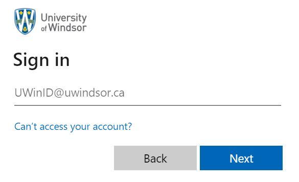 UWinsite student login.