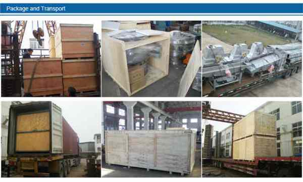linear vibrating screen delivery