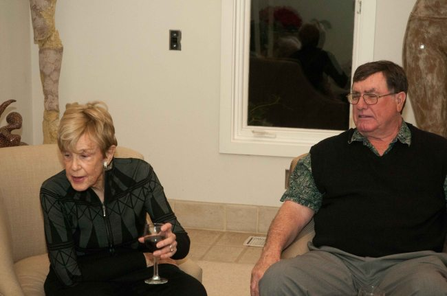 Barbara and Jerry