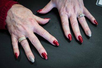 Pat's great fingernails