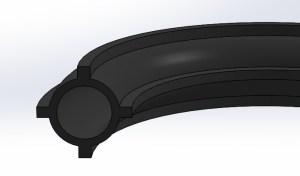 Garnitura cauciuc tip profil extrudat