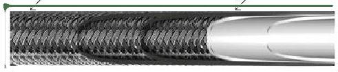 Ilustratie furtun hidraulic Ultrapressure