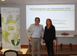 Benvinguda residents coordinadora Fuentes Director Primaria Ferrer