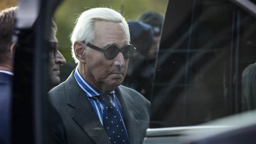 Roger Stone, confidant of Trump and WikiLeaks connection, found guilty on all seven counts