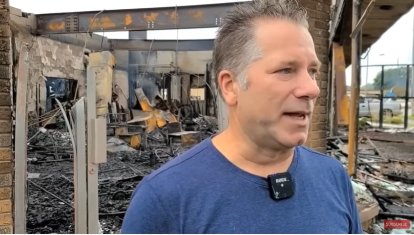Kenosha Business Owner's Store Burnt to Rubble: 'Why Did We Deserve This?' [VIDEOS]