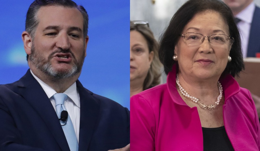 Cruz Humiliated Hirono, 'Task Force on Violent Anti-Government Extremism' Explained, Democrat Storms Out
