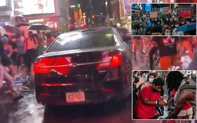Car that sped through BLM mob in Times Square may have been Targeted and Attacked as 'Trump Supporters'
