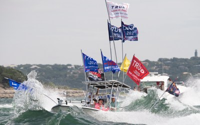 Disaster At Pro Trump Boat Parade, Many Boats Have Sunk, Others In Distress