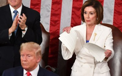 More Trouble for Pelosi, Republicans Want her Investigated for Ripping up Trump's Speech, Referred to Barr