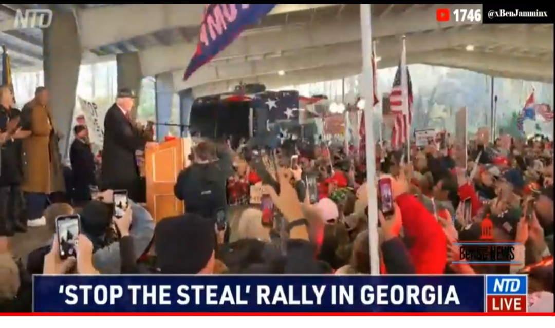 """It's America in 1776"" Lin Wood Leads Georgia Rally and Press Conference That Crashed Servers From the Interest"
