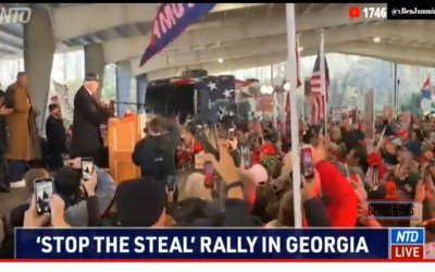 """""""It's America in 1776"""" Lin Wood Leads Georgia Rally and Press Conference That Crashed Servers From the Interest"""