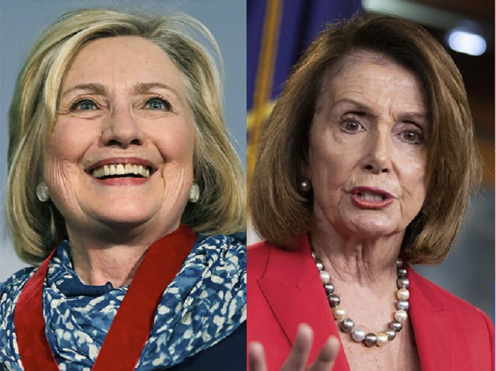 Hillary and Nancy Create Conspiracy Theory that President Trump Worked With Putin to Orchestrate the Capitol Riot