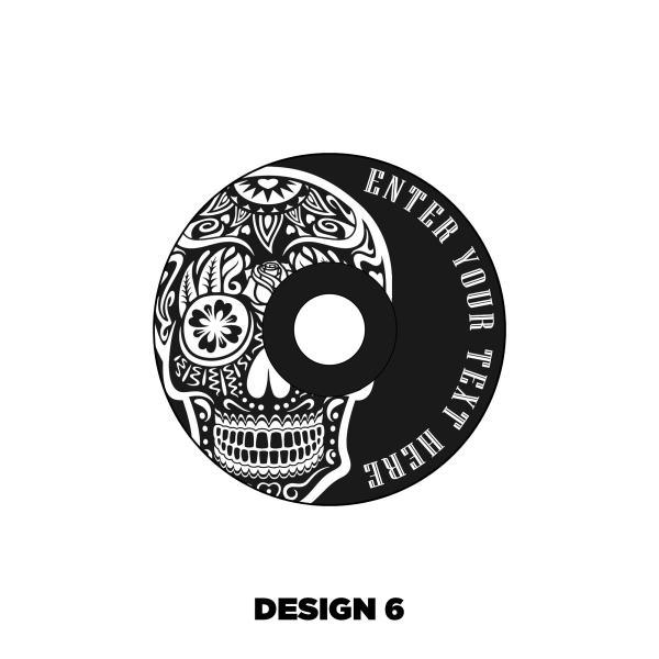 Custom Headset cap design 6
