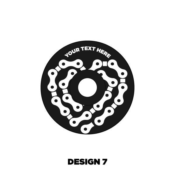 Custom Headset cap design 7