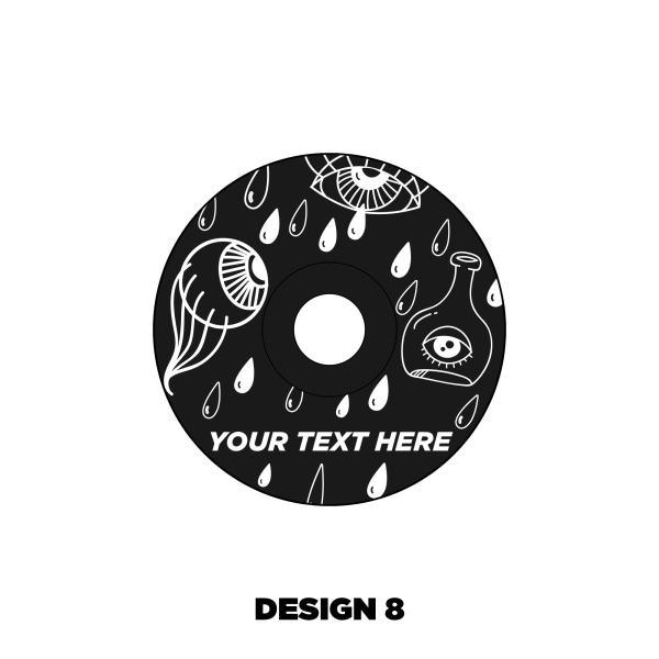 Custom Headset cap design 8