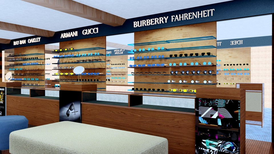 Optical Showroom For Mr. Barucha