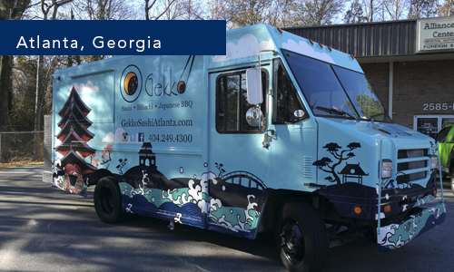 Atlanta, Georgia Gekko foodtruck by united food truck