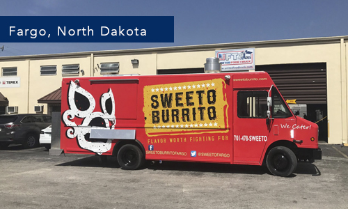 Sweeto Burrito Food Truck Fargo North Dakota