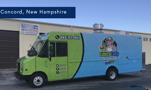 Lunch Lady, Concord New Hampshire Food Truck