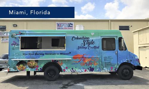 Mariscos Andre Miami, Florida Food Truck