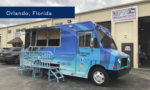 Orlando , Florida Ocean Tacos Food truck by United Food Truck