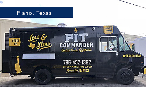 Pit Commander PLano Texas Food Truck