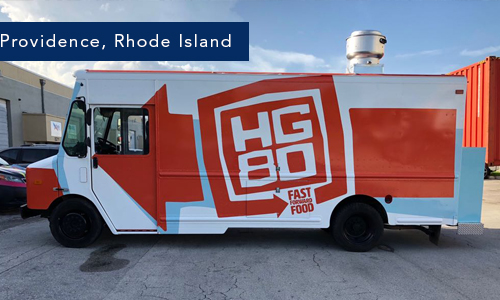 Providence, rhode island foodtruck hg80 by United Food Trucks