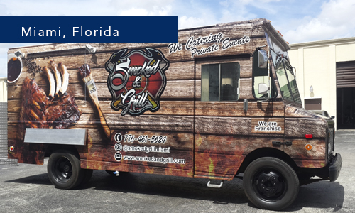 Smocked & Grill Miami Florida Food Truck