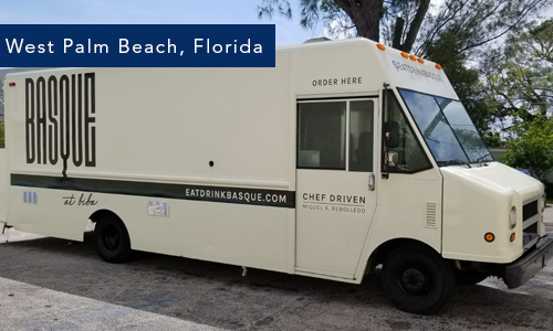 West Palm Beach, Florida Basque foodtruck by United Food Trucks