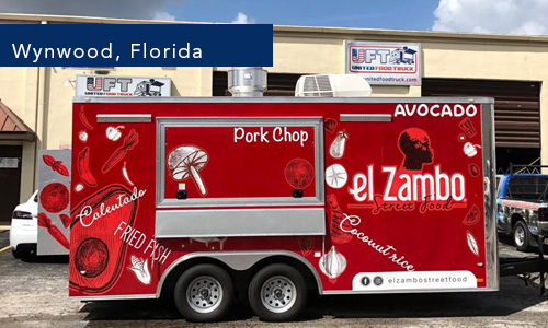 Wynwood Florida El zambo street food food trailer
