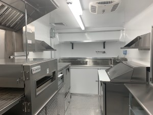16 ft concession trailer kitchen
