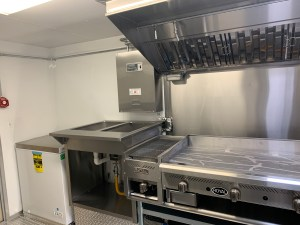 Concession Trailer kitchen