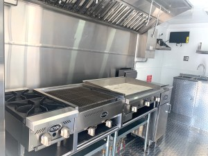 concession trailer for sale inside kitchen