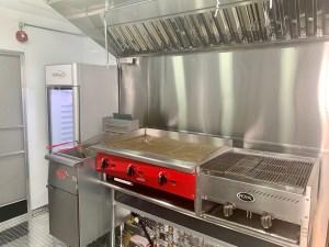 basic kitchen combination Concession trailer
