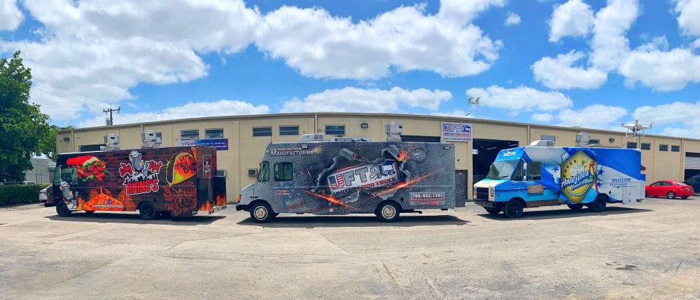 latest builds food trucks united food trucks